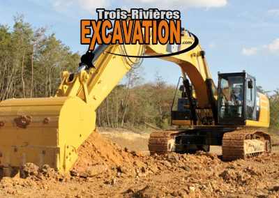 Excavation en mauricie